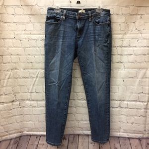 Eileen Fisher cropped jeans